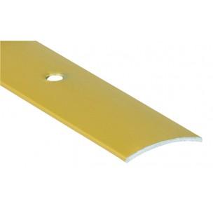 2,70m Listwa maskująca z nawierconymi otworami  Alu złote LUZEM