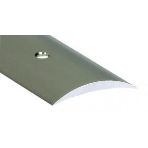 2,70m Listwa maskująca z nawierconymi otworami  Alu tytan LUZEM