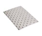 Dotykowa płytka podłogowa (dalum aluminium radełkowane)