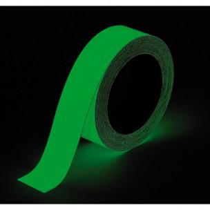 18,3M 25MM samoprzylepne antypoślizgowe paski fotoluminescencyjne