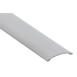 Profil maskujący, samoprzylepny z aluminium, srebrne (szer. 30 mm, gr. 1 mm, dł. 0,73 m)