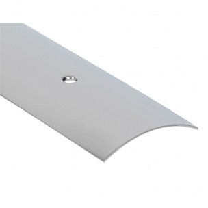 Listwa maskująca nawiercana z aluminium (dł. 2.7 m, srebrna)
