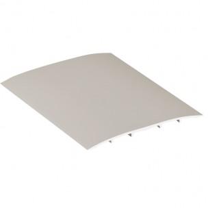 Podłogowa listwa dylatacyjna aluminium, ze ściętymi krawędziami, 3m 80mm