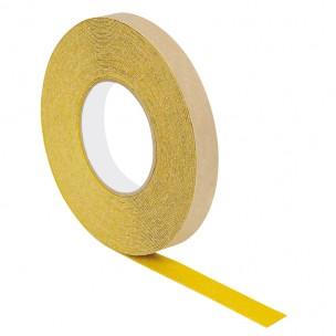 Taśma antypoślizgowa - żółty karborund - 18,3M 19MM