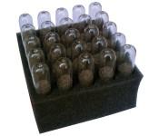 20 ampułek z karbidem