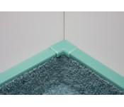 Narożnik wewnętrzny do listwy dywanowej ożebrowanej