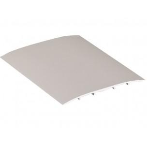 Podłogowa listwa dylatacyjna aluminium, ze ściętymi krawędziami, sz. 60 mm, dł. 3m