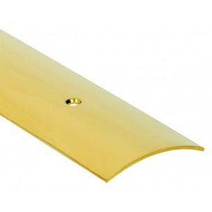 2,70m Listwa maskująca z nawierconymi otworami mosiądz LUZEM