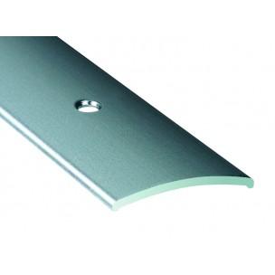 Listwa maskująca z nawierconymi otworami - Alu srebrne, dł 0,93m